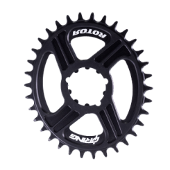 DM oval chainring compatible with SRAM BB30