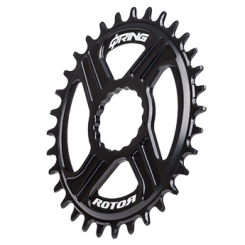 Q RINGS DM OVAL CHAINRING FOR REX