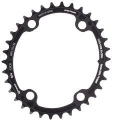 Q RINGS Spider Mount Oval Chainrings INNER 110x4