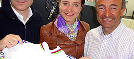 Marianne Vos wins Cyclocross and Road World Championships with Q RINGS