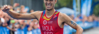 Mario Mola, 3 times Triathlon World Champion with 2INpower&QRINGS