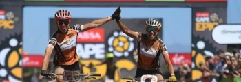 Annika Langvad y Kate Courtney win the Cape Epic race with Q RINGS and 2INpower